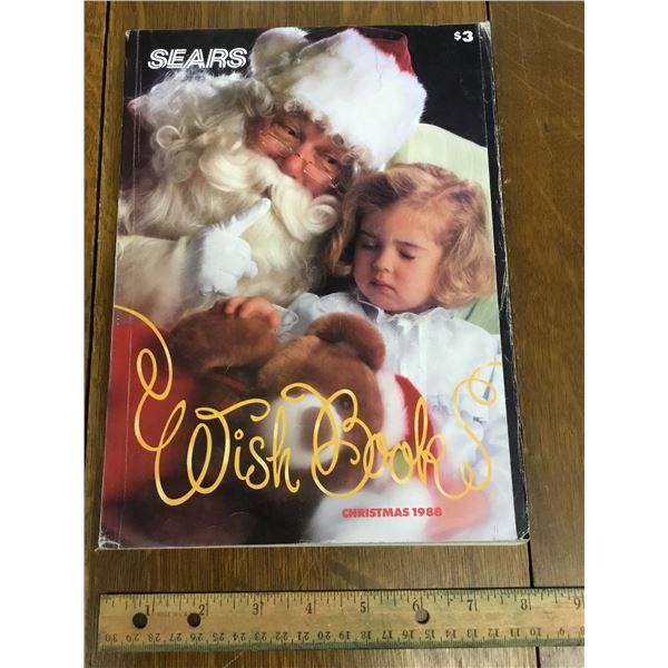 VINTAGE SEARS WISH BOOK CHRISTMAS 1988