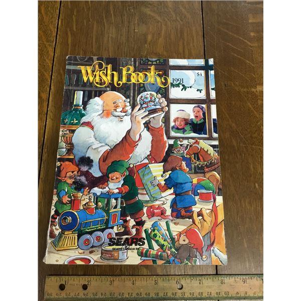 VINTAGE SEARS WISH BOOK CHRISTMAS 1991
