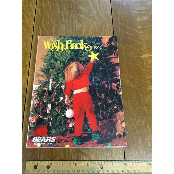 VINTAGE SEARS WISH BOOK CHRISTMAS 1992