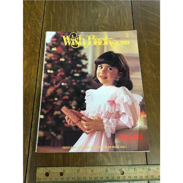 VINTAGE SEARS WISH BOOK CHRISTMAS 1993