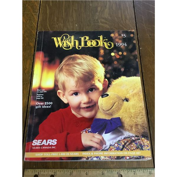 VINTAGE SEARS WISH BOOK CHRISTMAS 1994