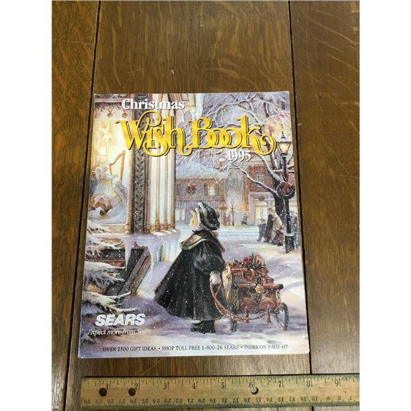 VINTAGE SEARS WISH BOOK CHRISTMAS 1995