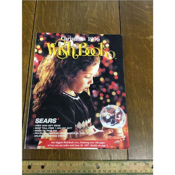 VINTAGE SEARS WISH BOOK CHRISTMAS 1996