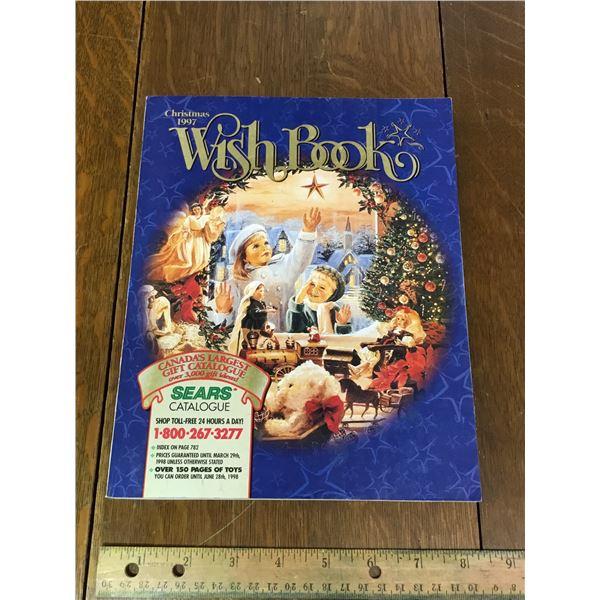 VINTAGE SEARS WISH BOOK CHRISTMAS 1997