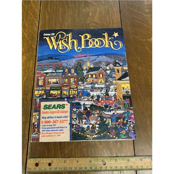 VINTAGE SEARS WISH BOOK CHRISTMAS 1998