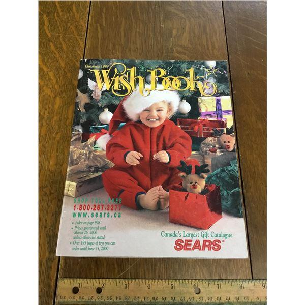 VINTAGE SEARS WISH BOOK CHRISTMAS 1999