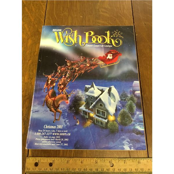 VINTAGE SEARS WISH BOOK CHRISTMAS 2001