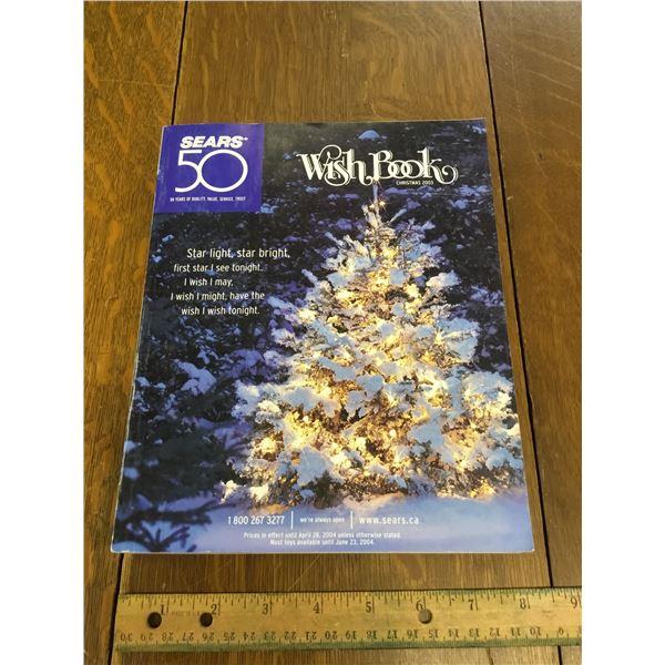 VINTAGE SEARS WISH BOOK CHRISTMAS 2003