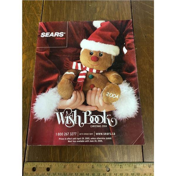 VINTAGE SEARS WISH BOOK CHRISTMAS 2004