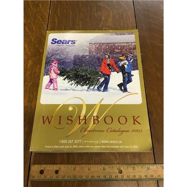 VINTAGE SEARS WISH BOOK CHRISTMAS 2005