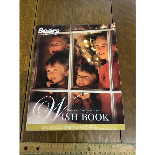 VINTAGE SEARS WISH BOOK CHRISTMAS 2007