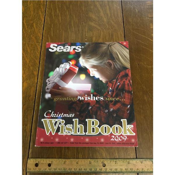 VINTAGE SEARS WISH BOOK CHRISTMAS 2009