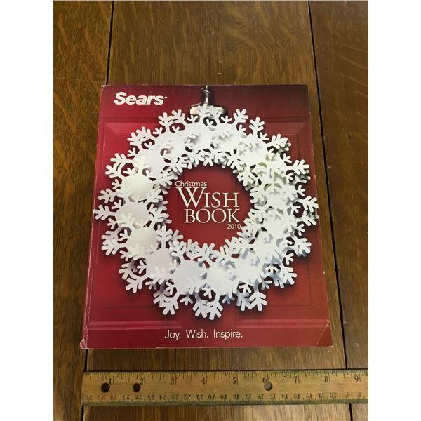 VINTAGE SEARS WISH BOOK CHRISTMAS 2010
