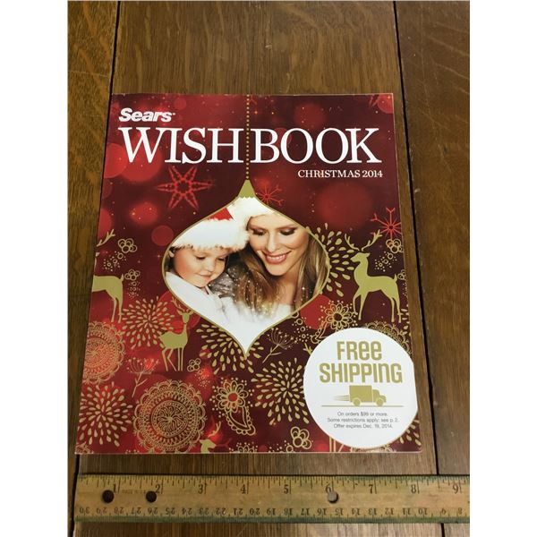 VINTAGE SEARS WISH BOOK CHRISTMAS 2014