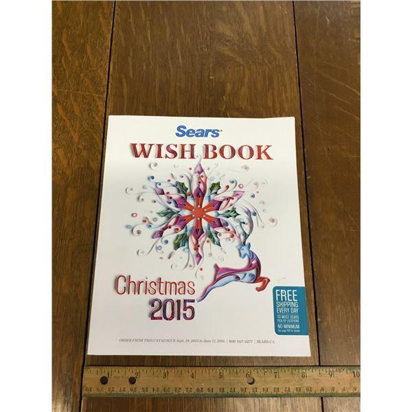 VINTAGE SEARS WISH BOOK CHRISTMAS 2015