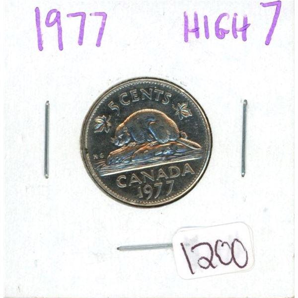 1977 High 7 nickel