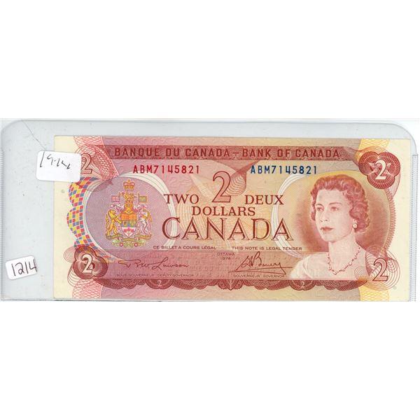 1972 2 dollar bill