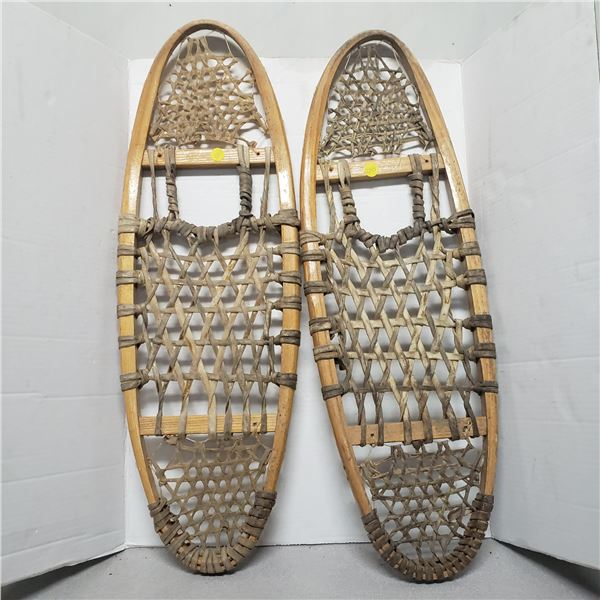 """pair of authentic snow shoes 10""""x30"""""""