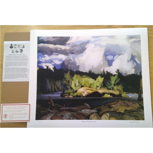 Ragged Sky Moose Lake by A.J. Casson 24' x 20'
