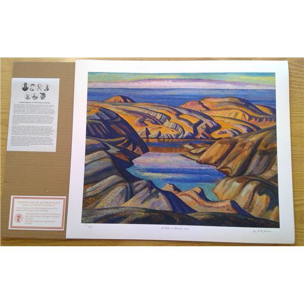 A Lake in Labrador 1930 by A.Y Jackson 24'x 20'