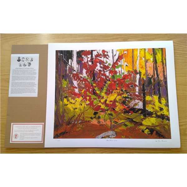 Red Sumac by Tom Thomson 24'x20'