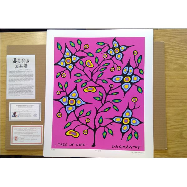 Tree of Life by Norval Morrisseau 24'x20'