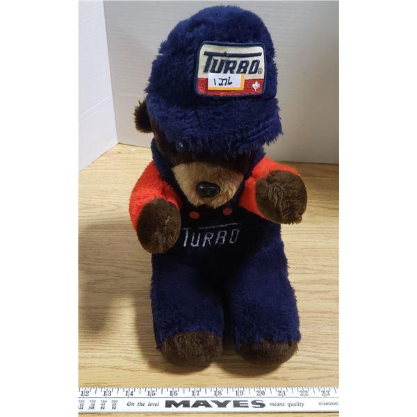 Vintage Turbo Gas Teddy Bear
