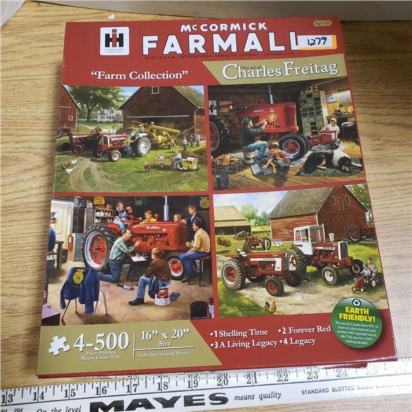 McCormick Farmall IH Puzzles