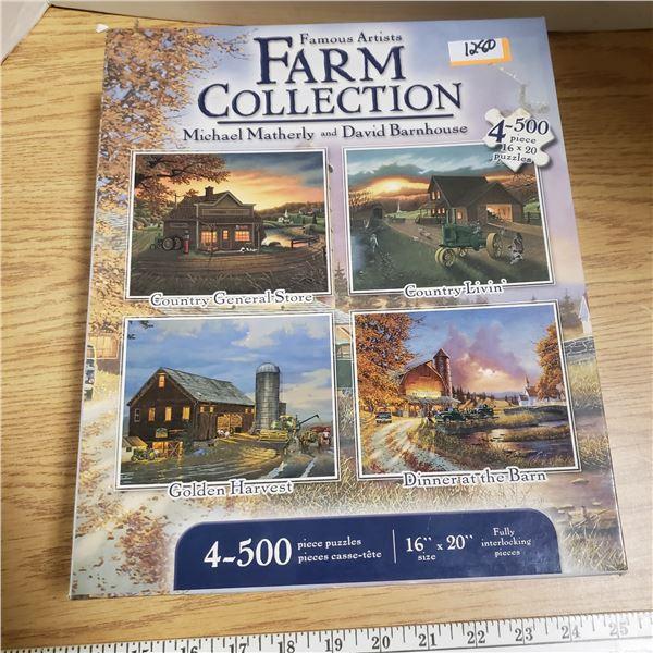 Farm Collection Puzzles