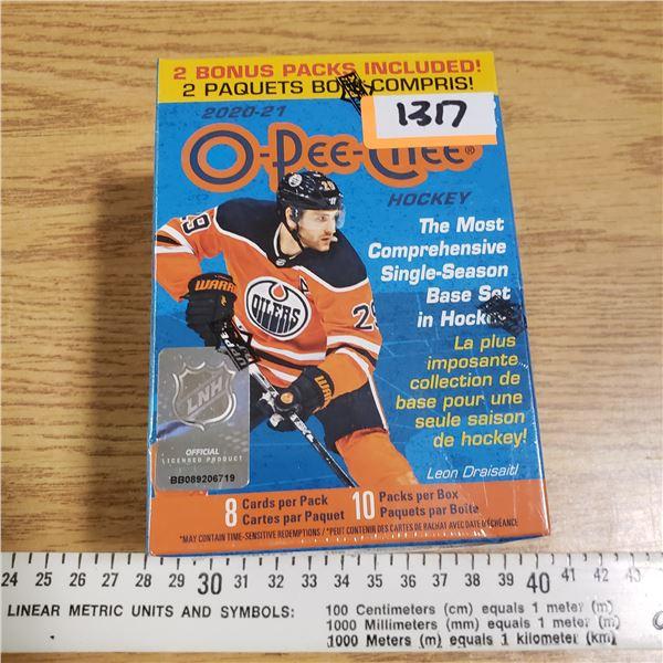 OPC O pee Chee Hockey 2020-21 Sealed Set