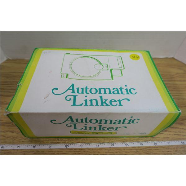 Seamstress's Automatic Linker Model SC-3