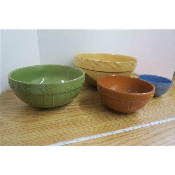 4 Leaf Patterned Signature Bowls