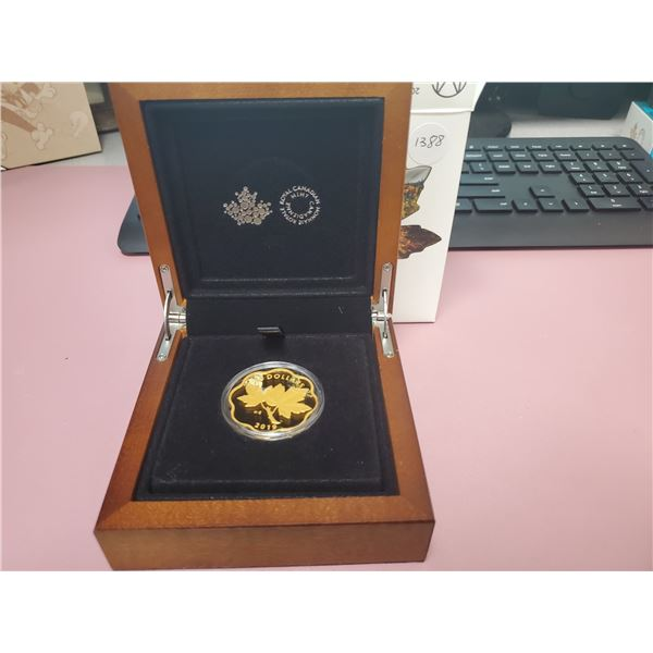 2019  - RCM $20.00 Fine Silver - Masters Club -  Iconic Maple Leaves