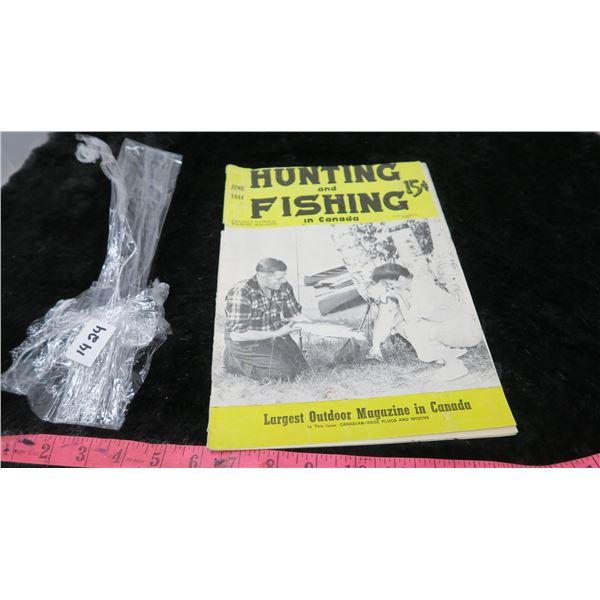 1944 HUNTING & FISHING MAGAZINE