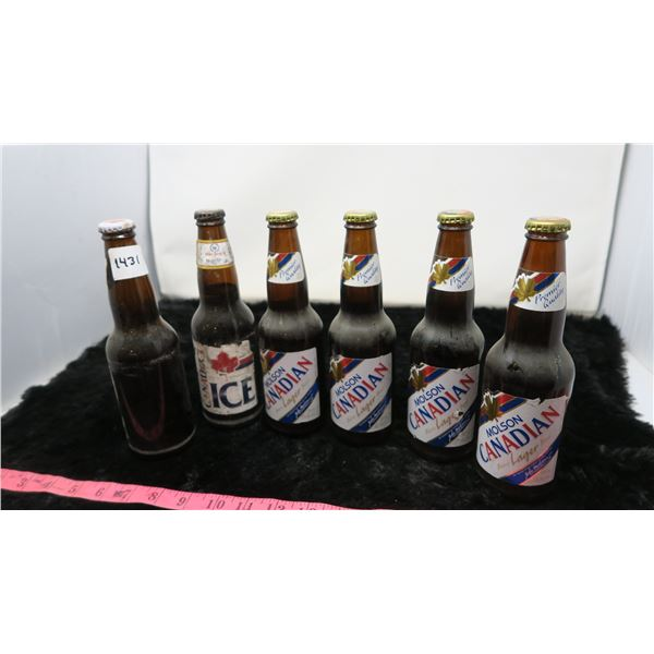VINTAGE 6 PACK MOLSON CANADIAN -FULL, UNOPENED