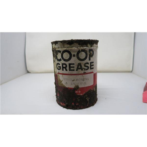 CO-OP GREASE TIN -HALF FULL
