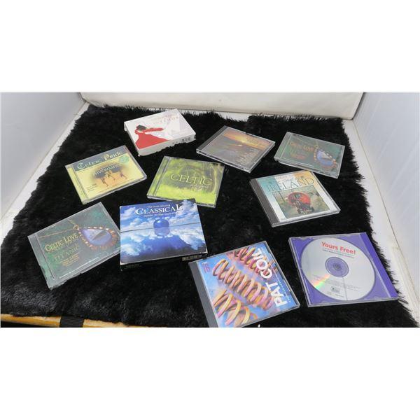 10 CDs Classical, Celtic Music