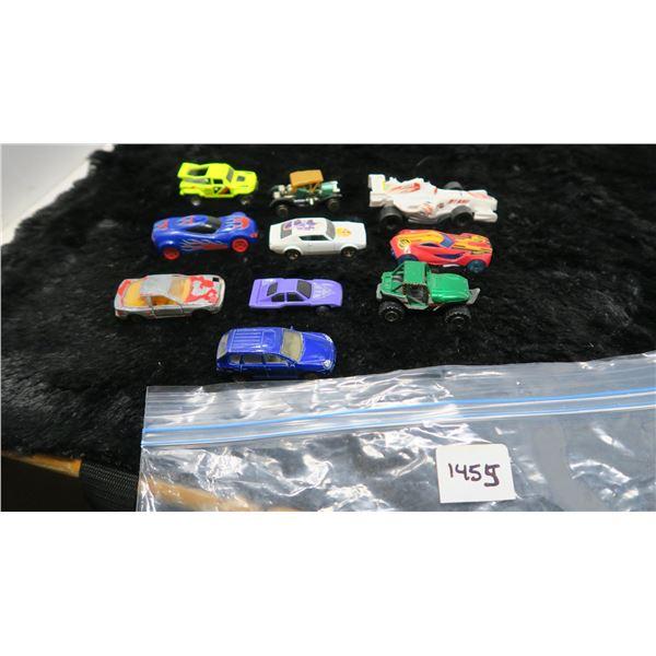 10 Toy Cars Mattel, Match Box