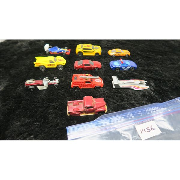 10 Toy Cars, Hotwheels, Mattel, Match Box