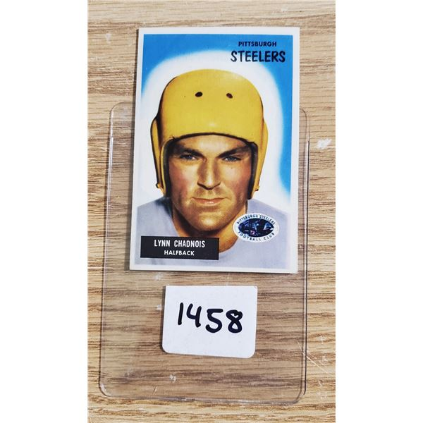 1955 Bowman #54 Lynn Chadnois Card