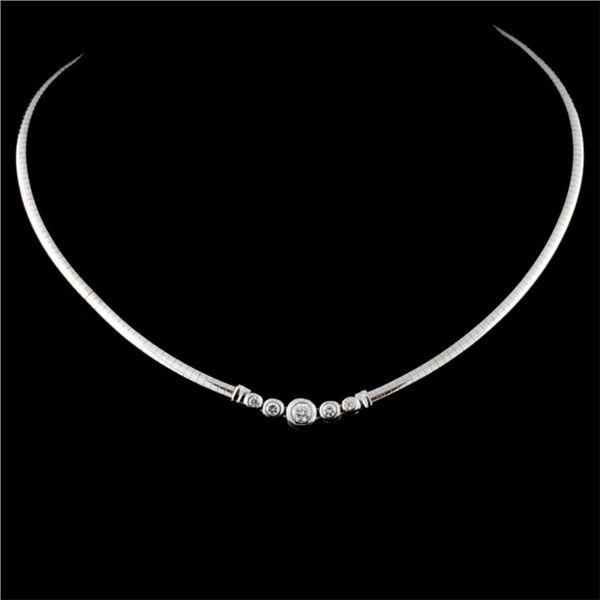 14K Gold 0.50ctw Diamond Necklace