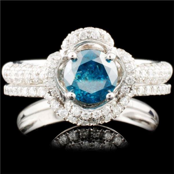 14K Gold 1.55ctw Diamond Ring