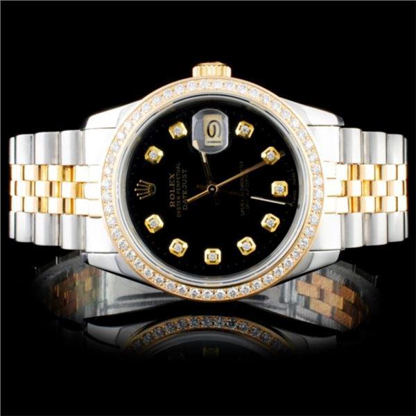 Rolex DateJust 1.50ct Diamond 36mmWristwatch
