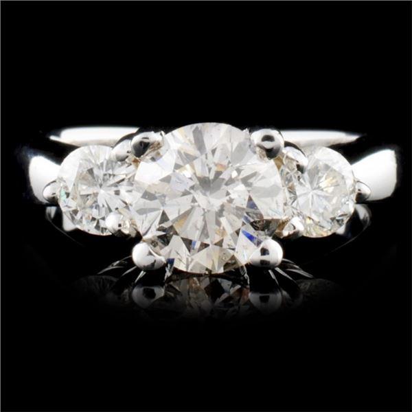 14K Gold 1.76ctw Diamond Ring