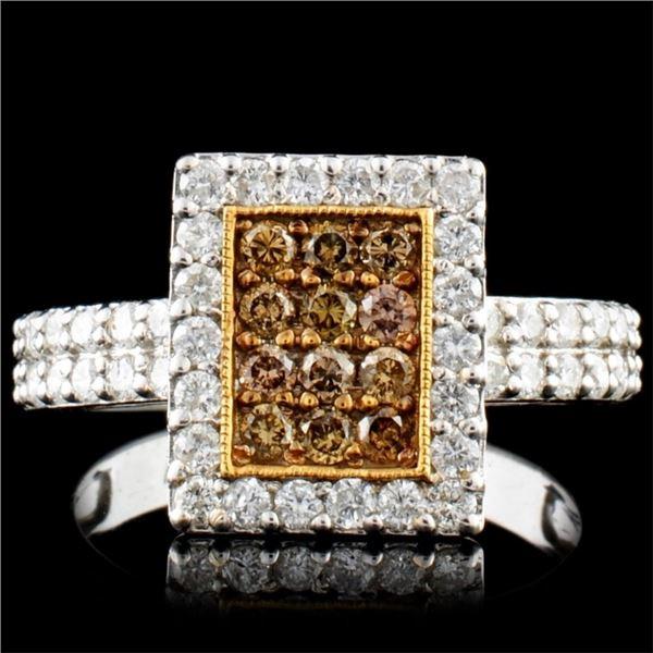 14K Gold 0.95ctw Diamond Ring