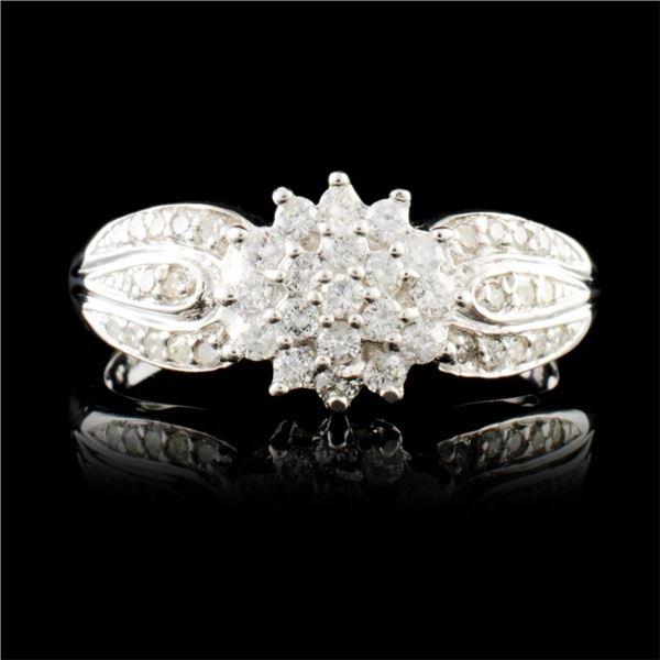 14K Gold 0.71ctw Diamond Ring