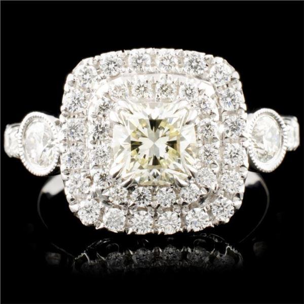 18K Gold 1.66ctw Diamond Ring
