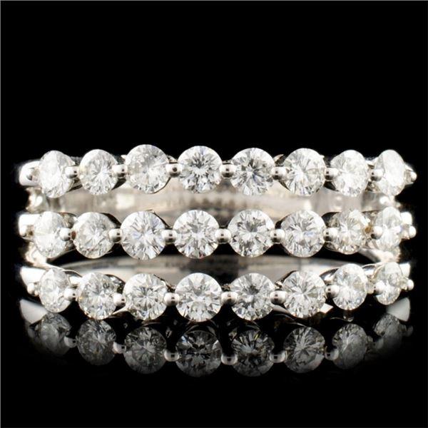 14K Gold 1.28ctw Diamond Ring