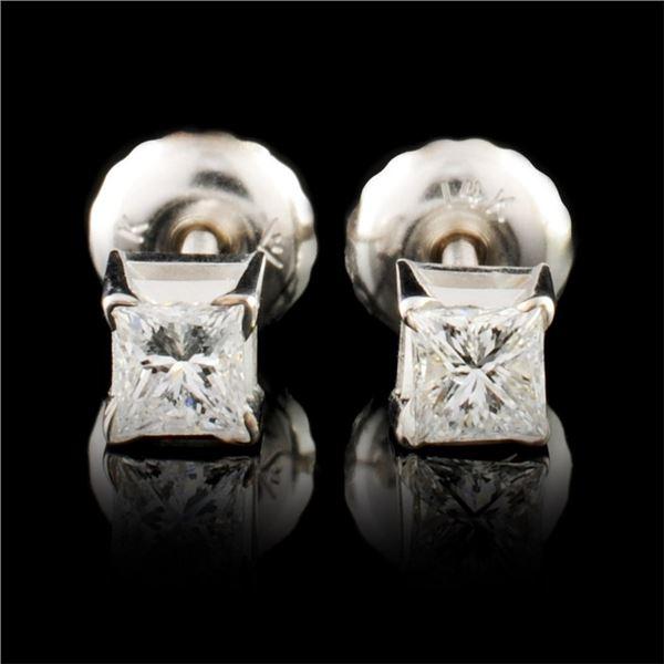 14K Gold 0.28ctw Diamond Earrings