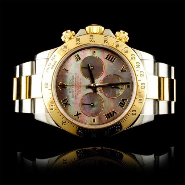 Rolex Cosmograph Daytona Black MOP Wristwatch